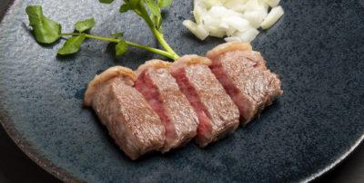 熟成神戸高見牛ステーキ